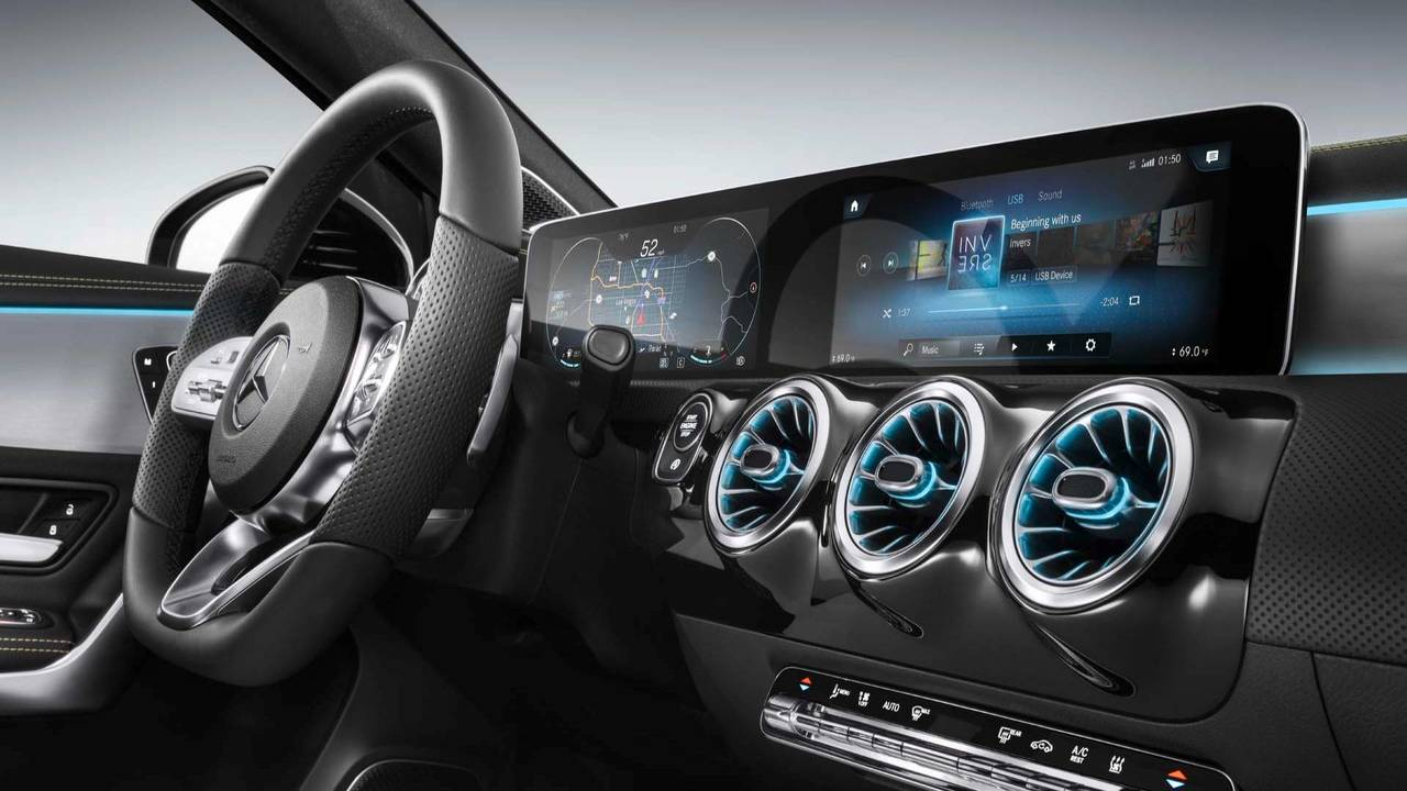 2019 Mercedes-Benz A250 is the cheapest and the most technically advanced model of Benz