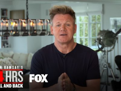 """Gordon Ramsay 24 Hours to Hell and Back"""" love affair with Fox continues"""