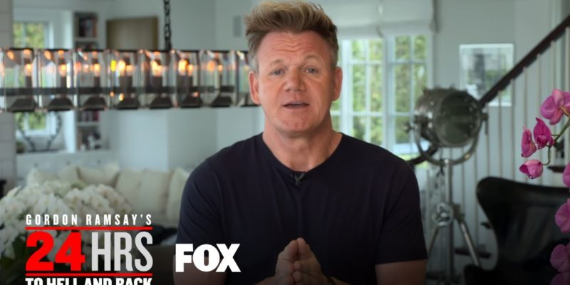 "Gordon Ramsay 24 Hours to Hell and Back"" love affair with Fox continues"