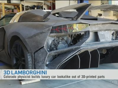 Crazy Batman Fans Father-Son duo build their own Batmobile using 3D Printing
