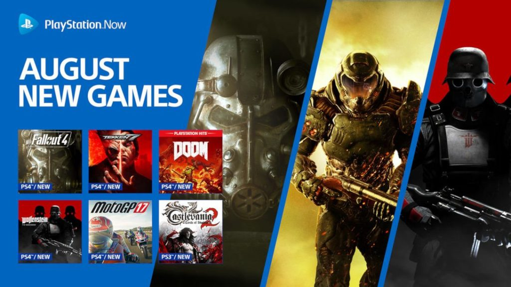 PlayStation Now August line-up schedule is ready to launch
