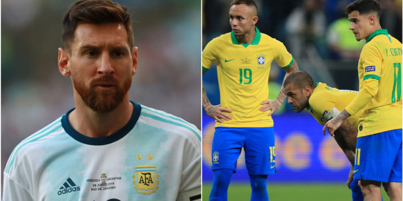Lionel Messi lashes on referees after Copa loss