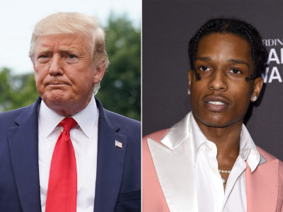 A$AP Rocky rescue mission is now lead by Donald Trump