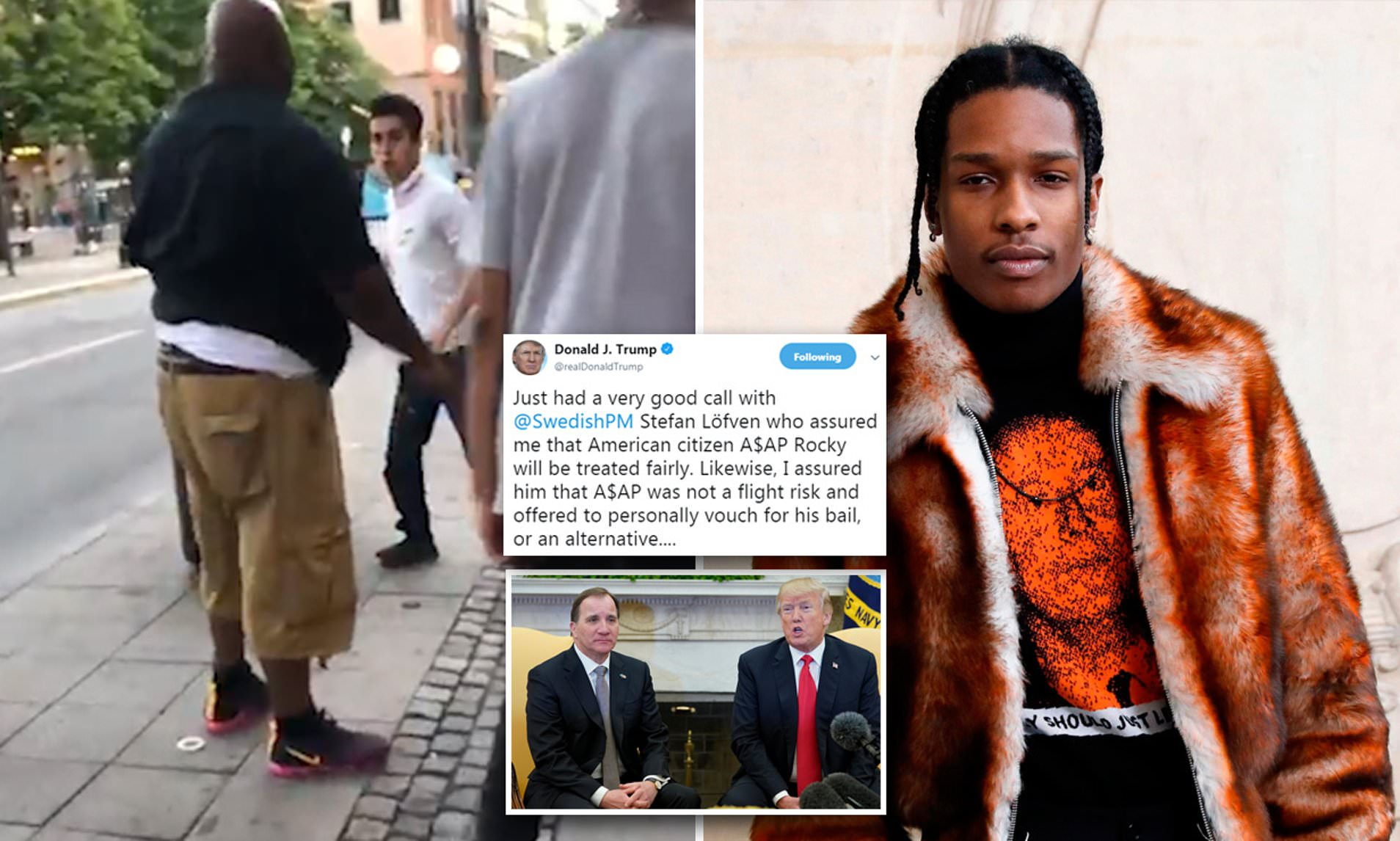 A$AP Rocky's rescue mission is now lead by Donald Trump