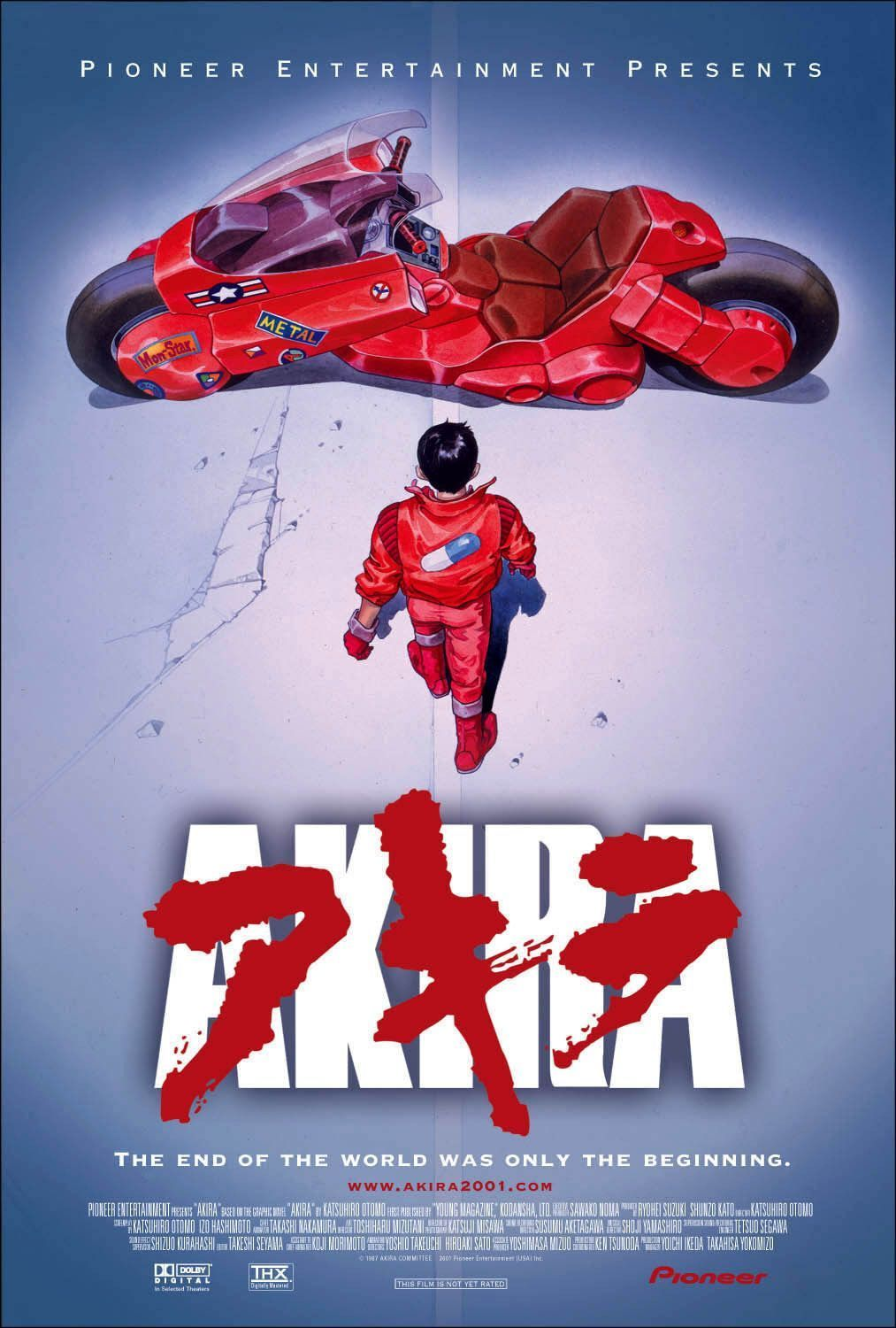 New Akira Anime series along with a new movie: