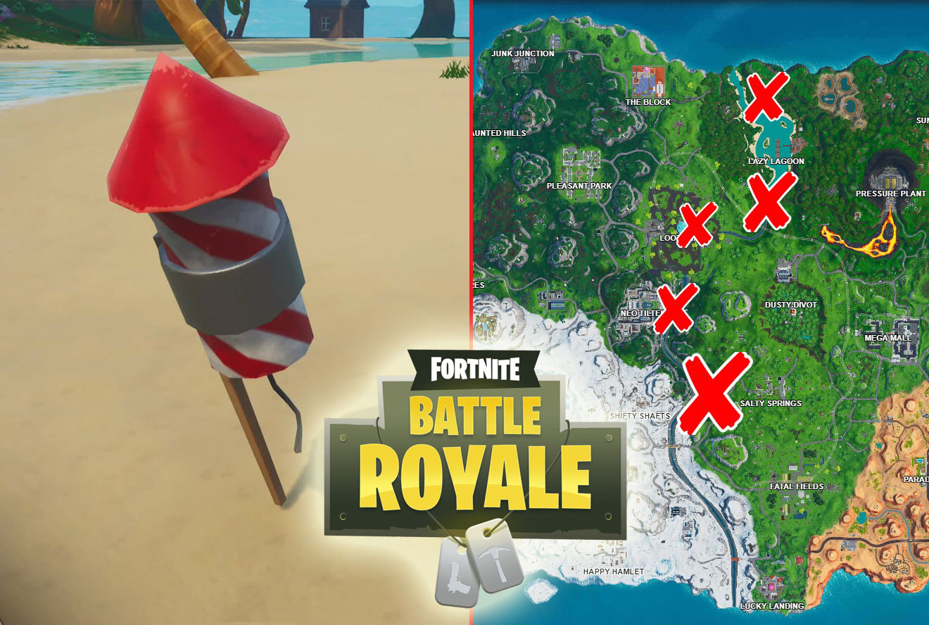 Fortnite Fireworks Locations: Completion and More