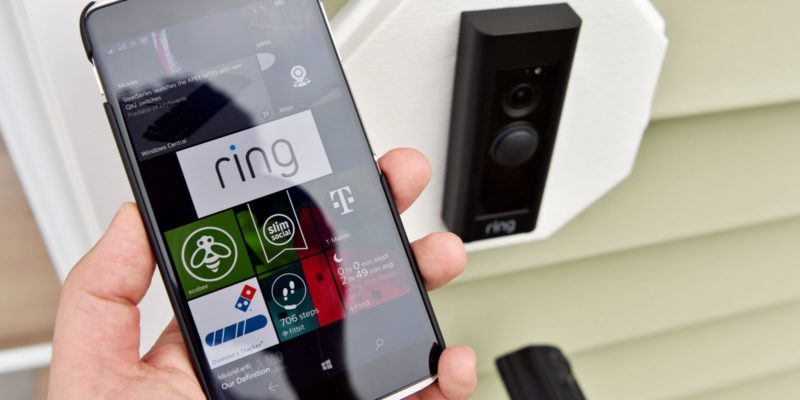 Amazon home security system Ring gets an app by Walmart for delivery boys to access your homes