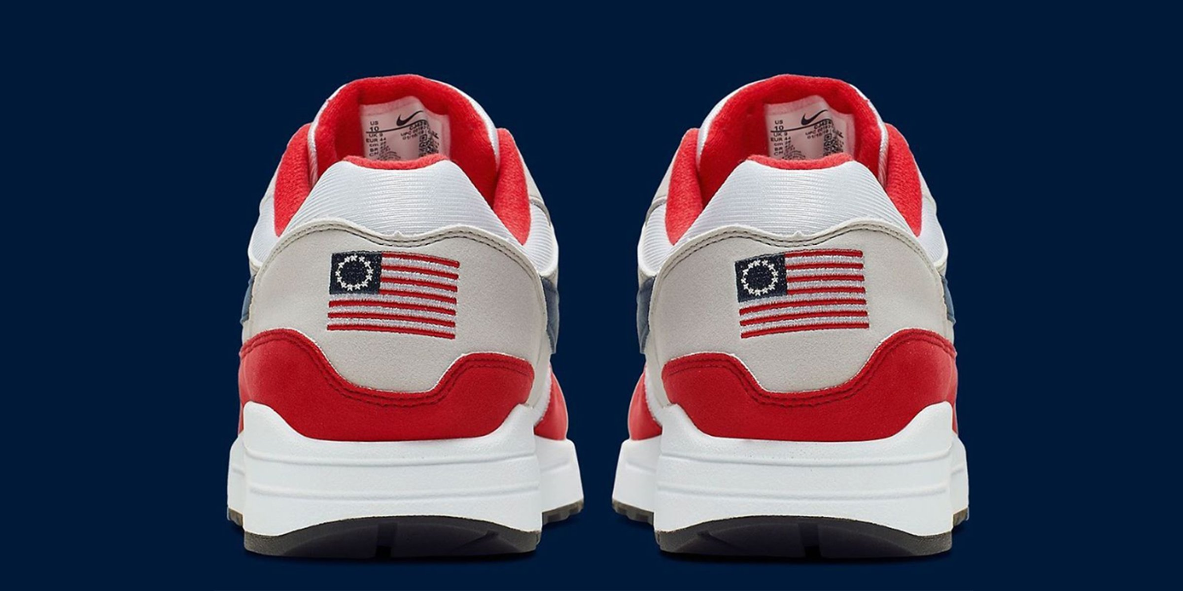 American flag history gains spotlight after the launch of Nike's Betsy Ross Flag sneakers