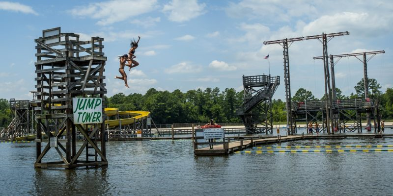 Brain-eating organism kills a person in fantasy lake water park.