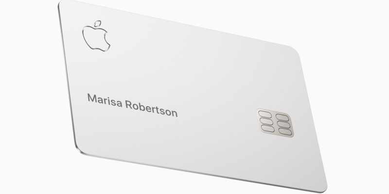 Apple credit card to drop in the US on August