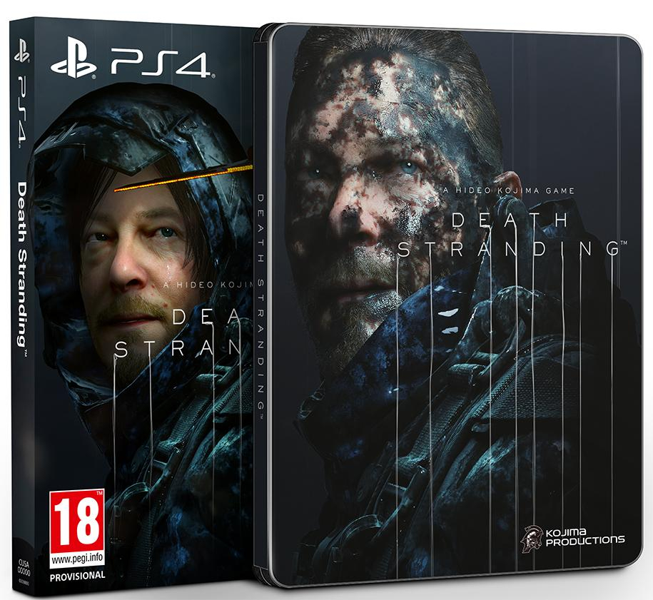Death Stranding Box Art revealed and it's incredulous