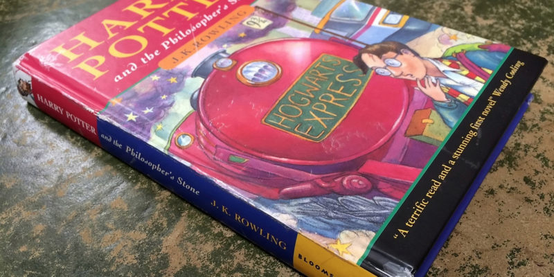 First edition Harry Potter book sells at auction for $50,000