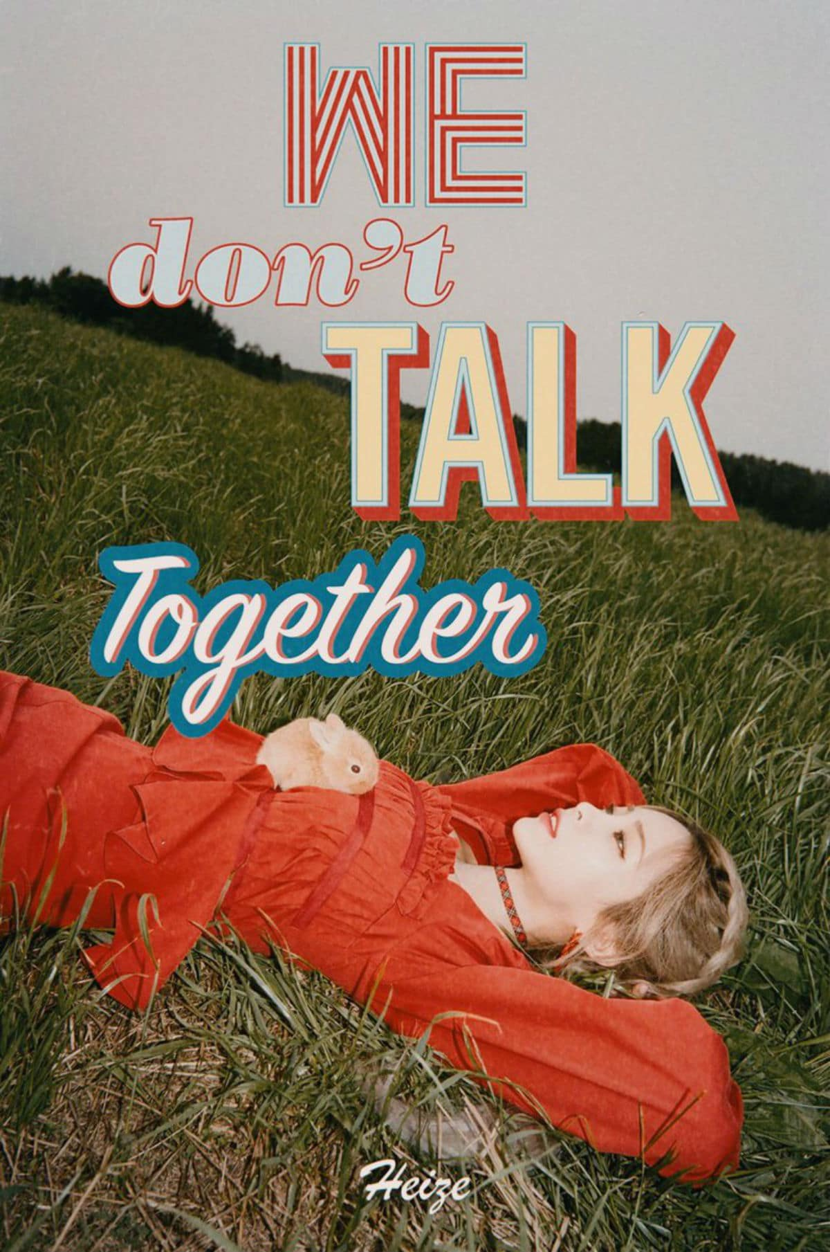 """Heize's comeback song """"We Don't Talk Together"""" is a collaboration project"""