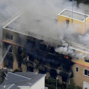 Kyoto Animation Studio jeopardized by blazing fire