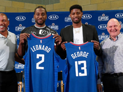 Kawhi Leonard and Paul George's Introduction to Clippers