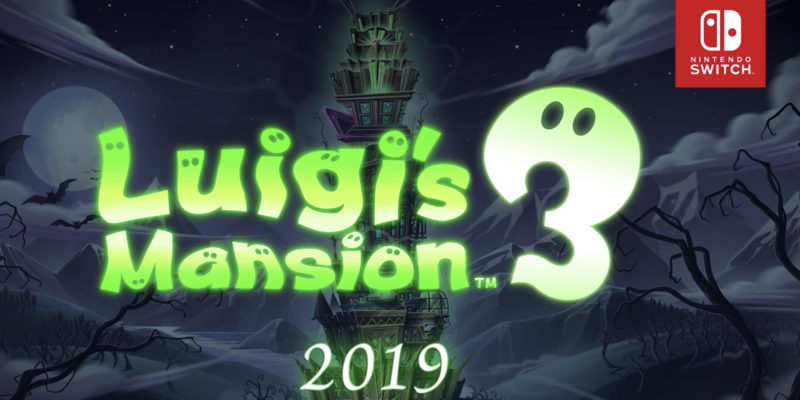 Luigi's Mansion 3 will be available on October 31 for Switch