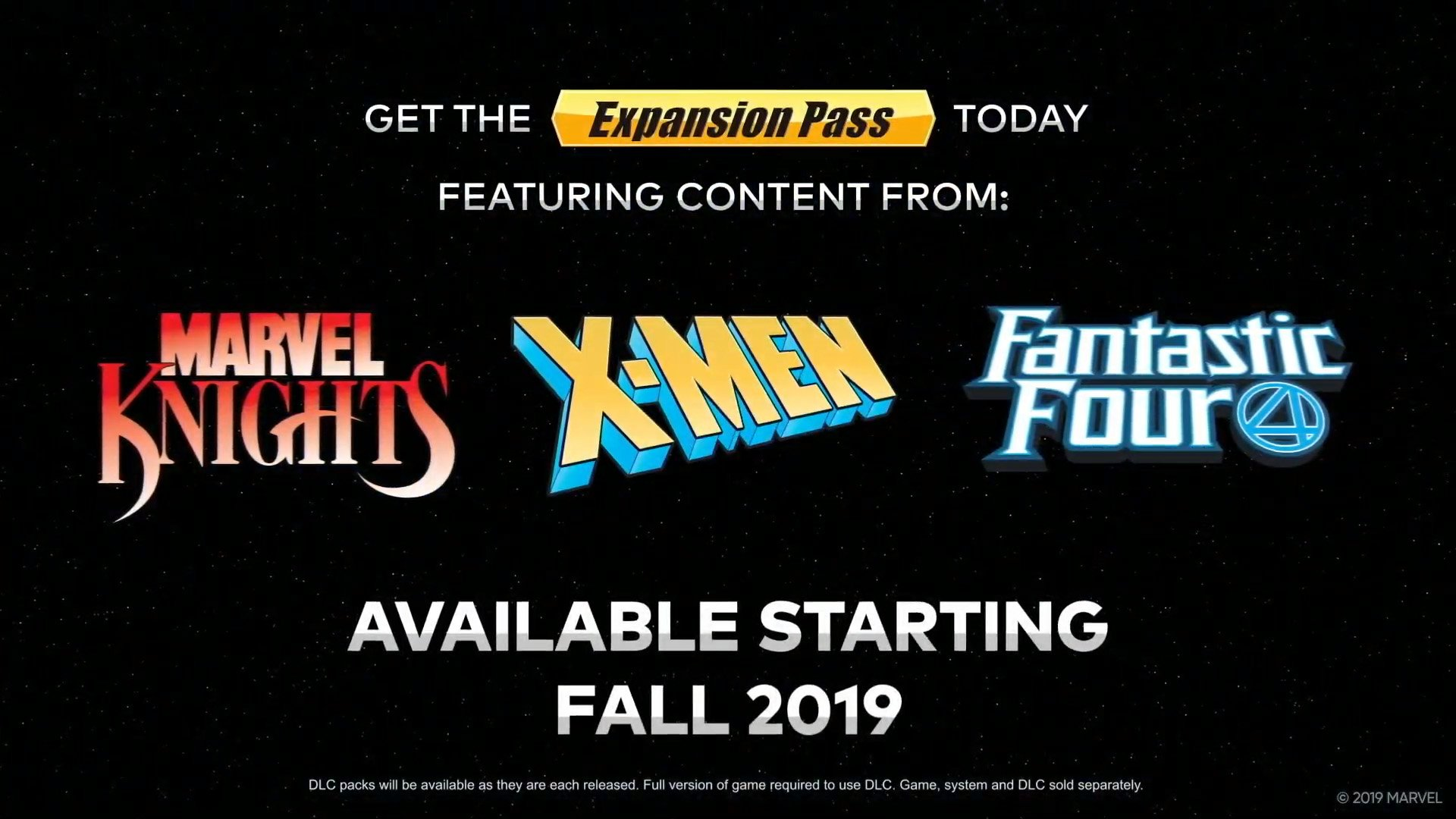 Marvel Ultimate Alliance 3 gives an insight with Expansion Pass