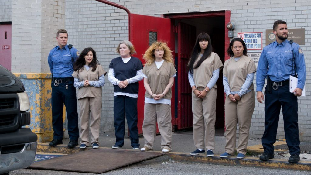 A still from Orange is the New Black Season 7.