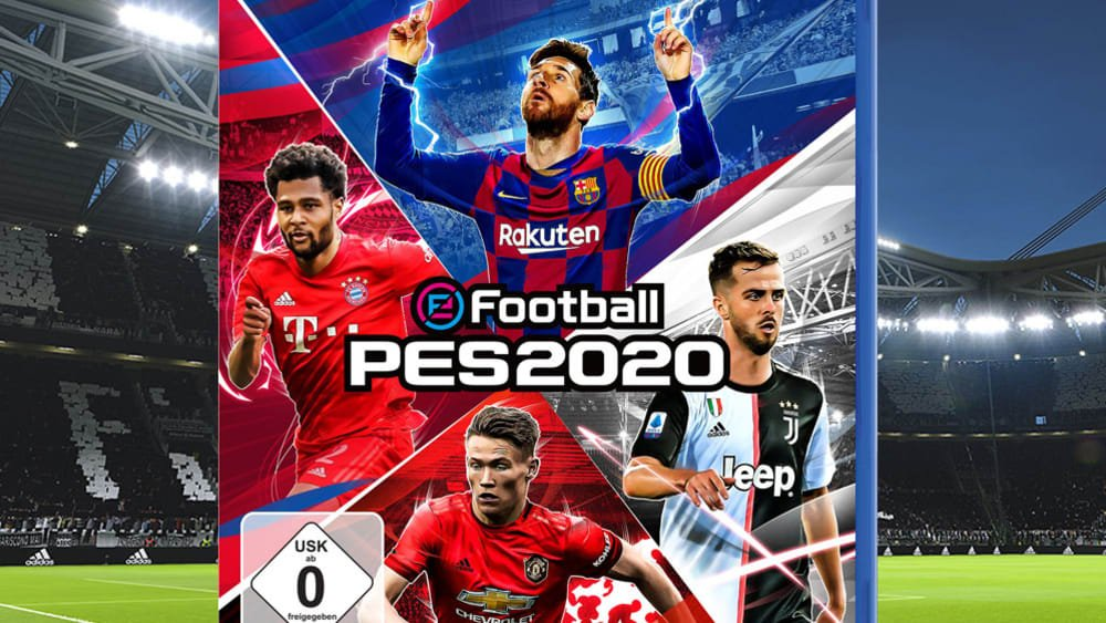 PES 2020: Why is McTominay on the cover with Messi and Pjanic?