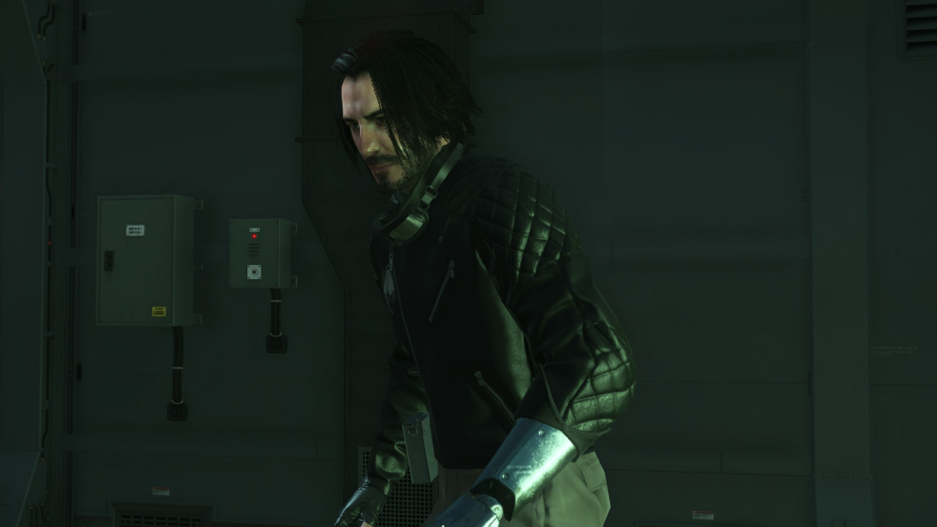 Metal Gear Solid V is featuring Keanu Reeves: