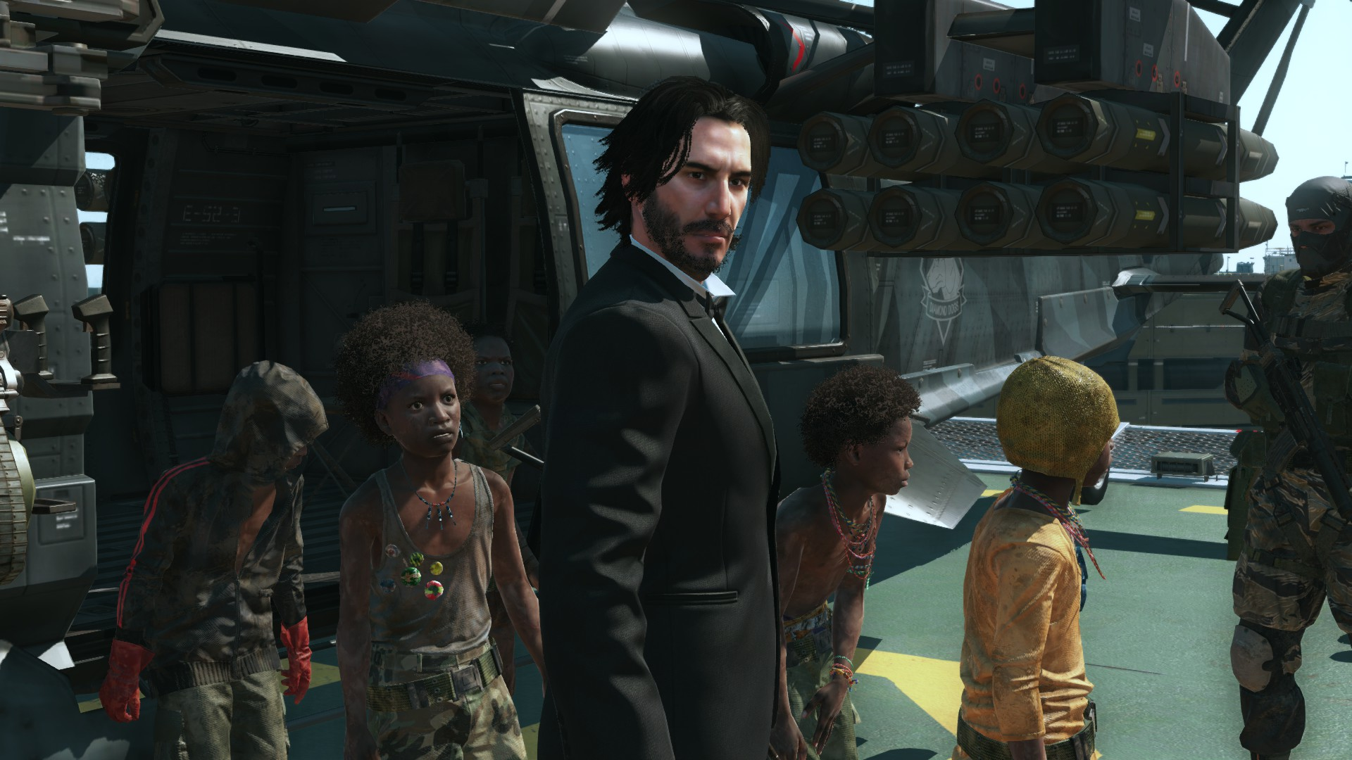 Keanu Reeves Mod Makes 'Metal Gear Solid' Even More Breathtaking