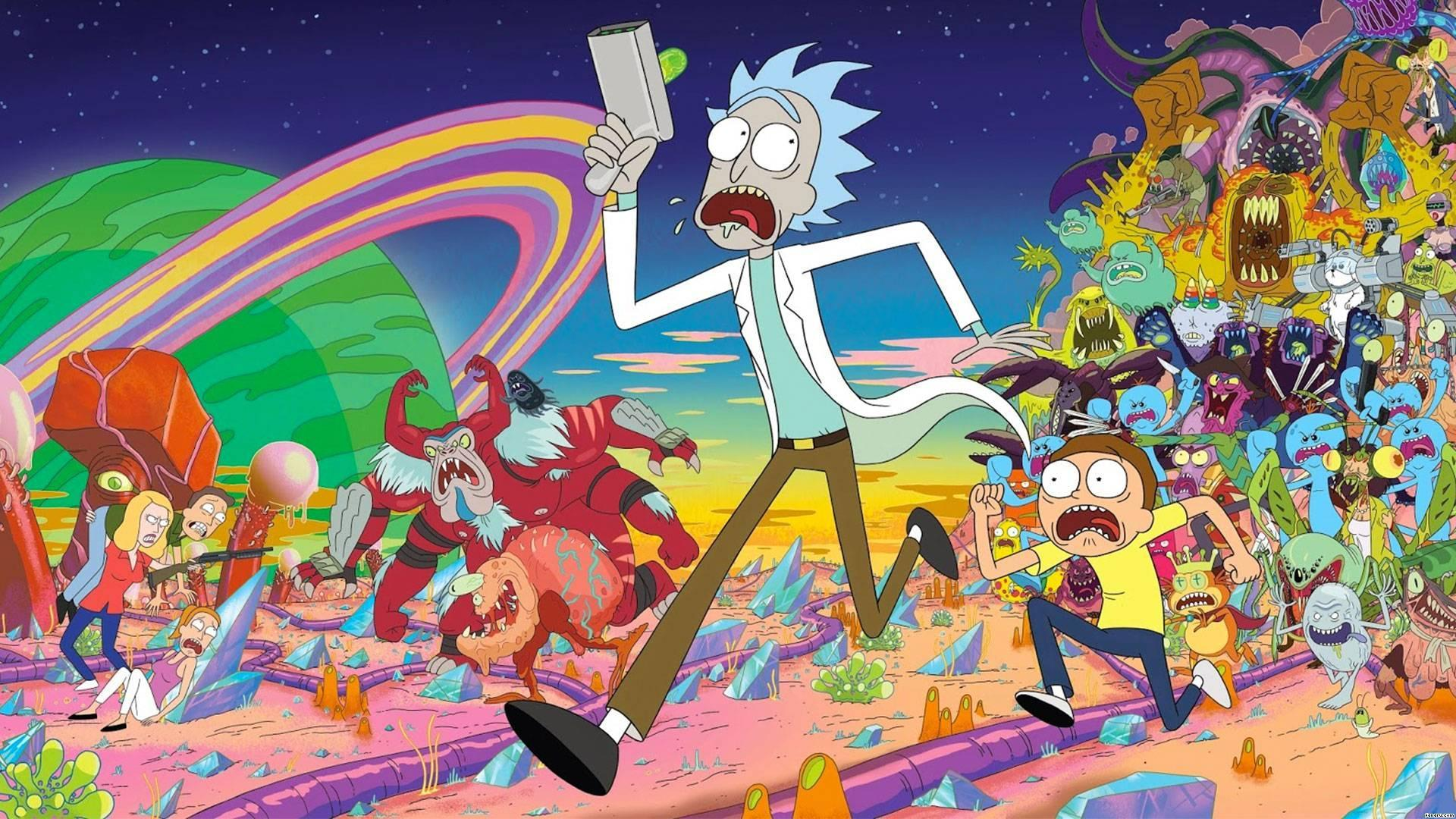 Rick and Morty charitable background character offer