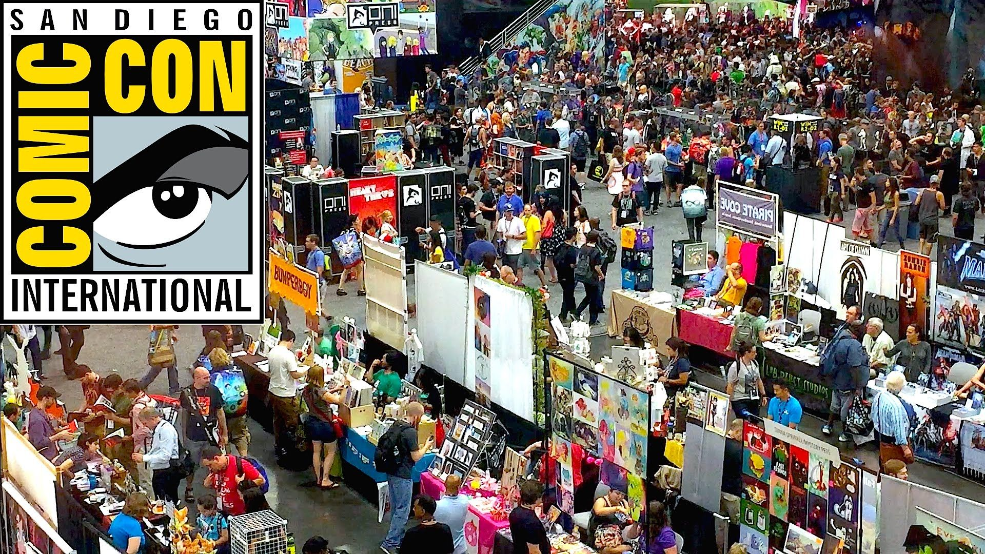 San Diego Comic Con is...