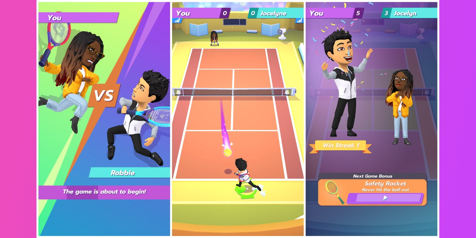 Snapchat announces a new game called Bitmoji Tennis for Wimbledon fans