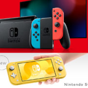 Nintendo Switch vs Switch Lite: