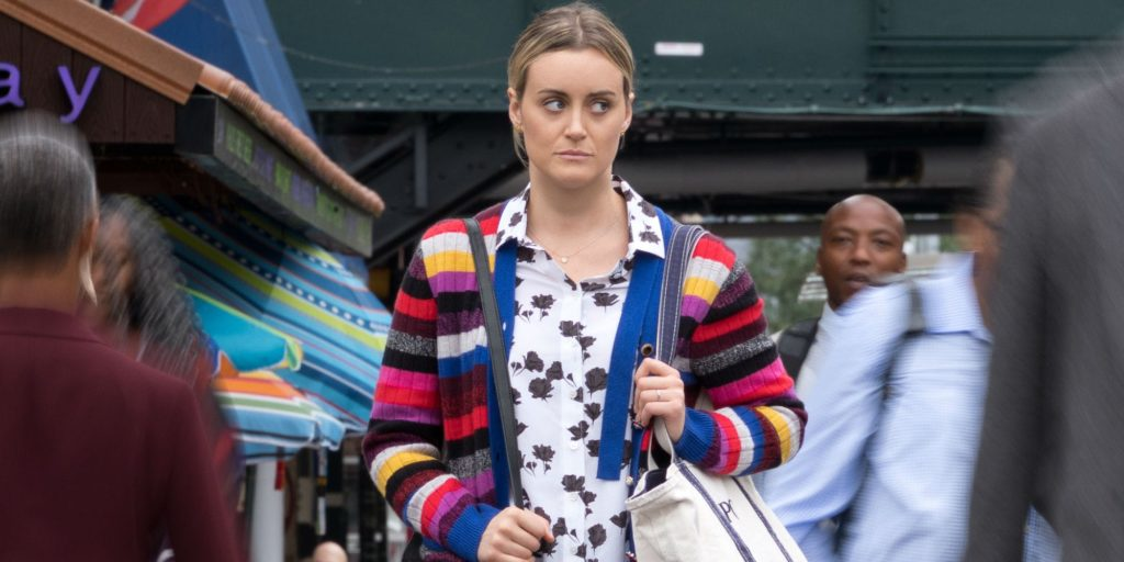 Taylor Schilling plays as Piper Chapman in the Orange is the New Black series.