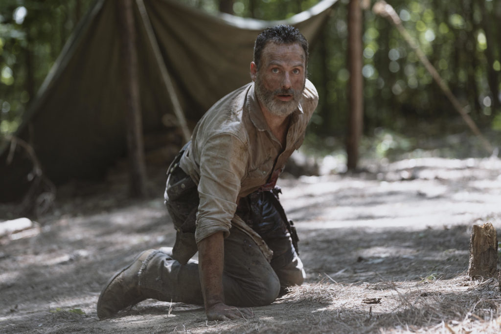 Andrew Lincoln as Rick Grimes in TWD.