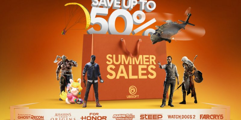 Ubisoft Summer Sale Promises Lucrative Deals on PC Games