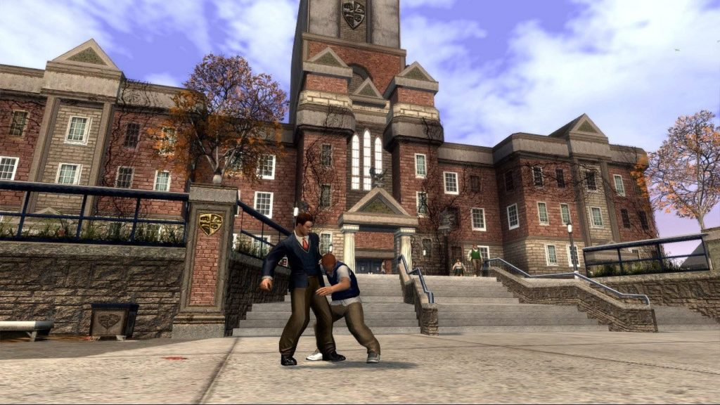 Bullworth Academy from original Bully Game.