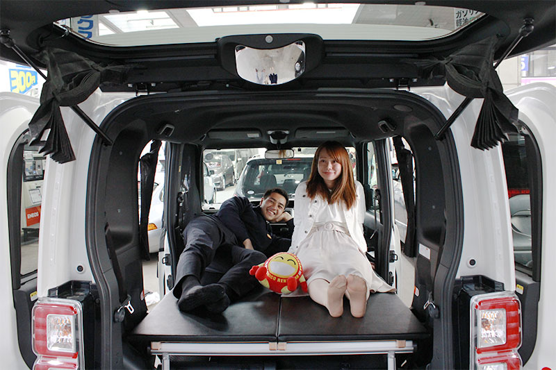 Japan's new sleepable cars will cut the cost of staying at hotel