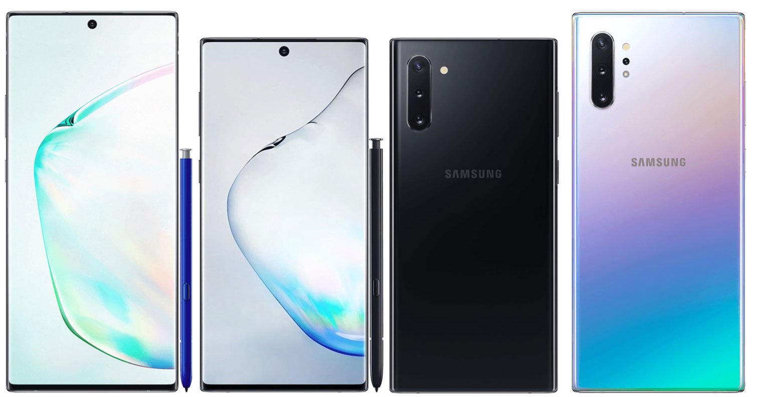 Official Samsung Galaxy Note 10+ renders: IR blasters and much more