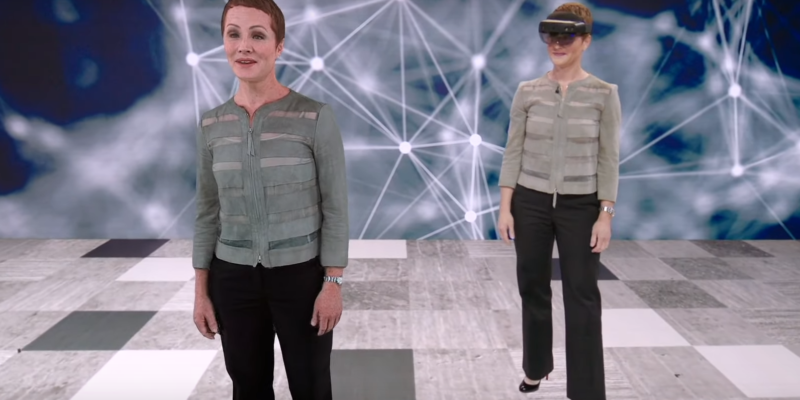 holoportation from Microsoft Mixed Reality Capture Studios