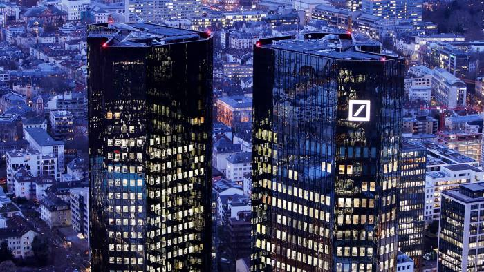 Deutsche Bank revealed and started its restructuring on Sunday