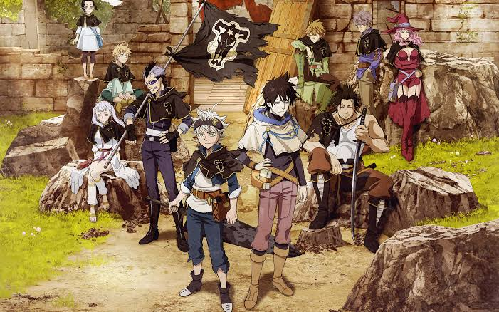 Black Clover everything to know after Bleach and Naruto