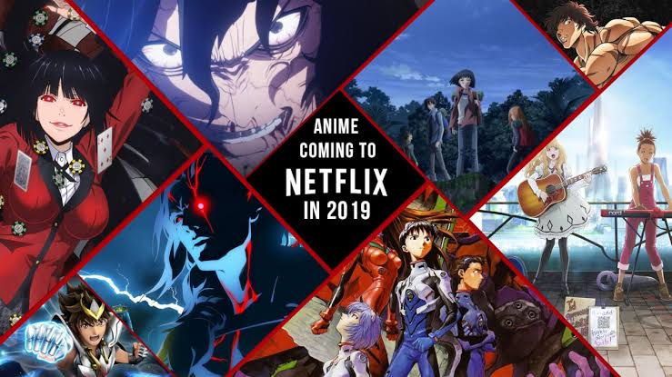 Netflix anime bucket lists for the month of August