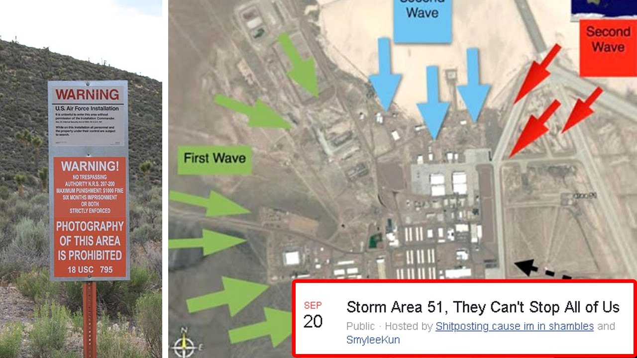 Military warns 750K+ alien hunters to stop storming to Area 51
