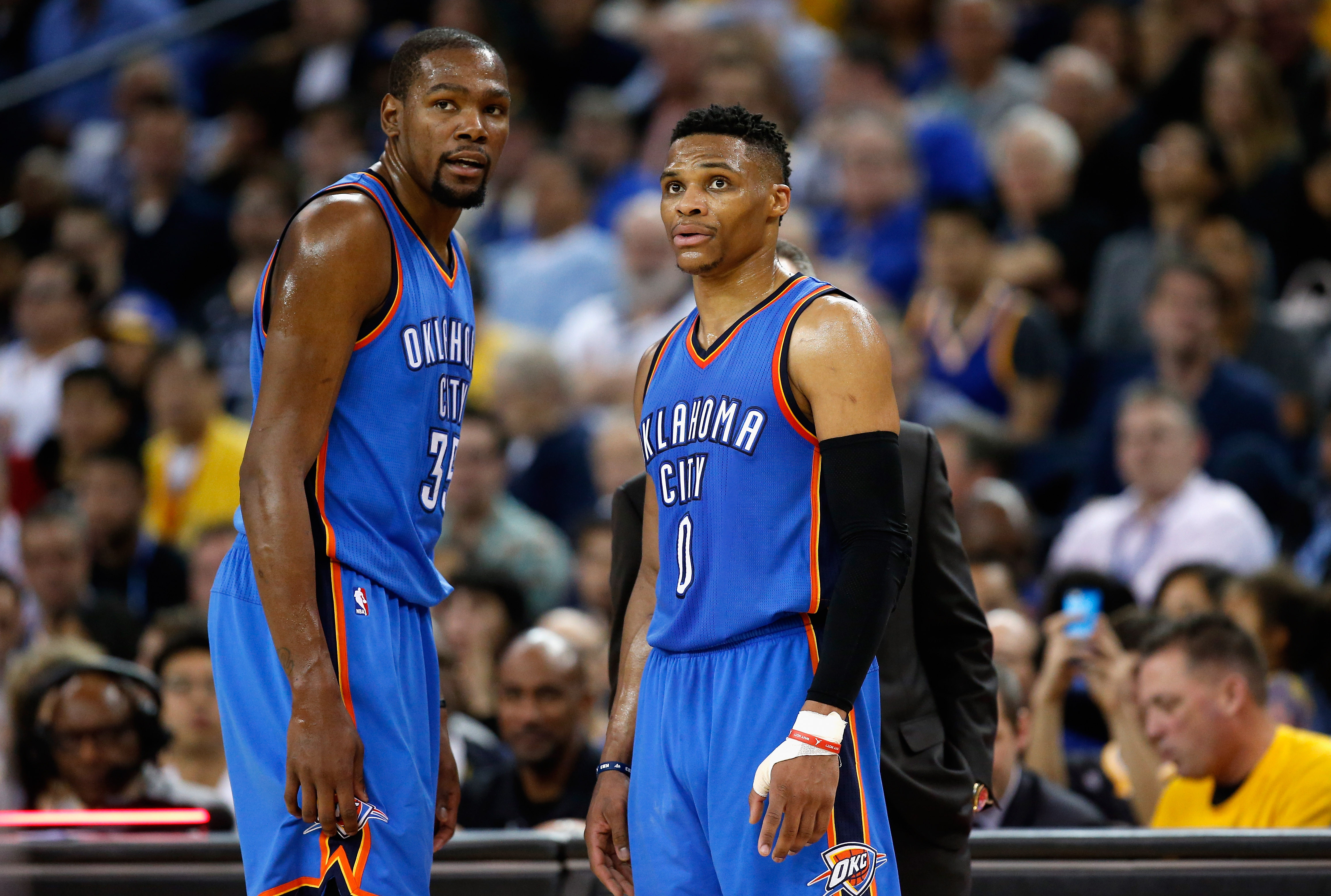 Russell Westbrook left chasing again