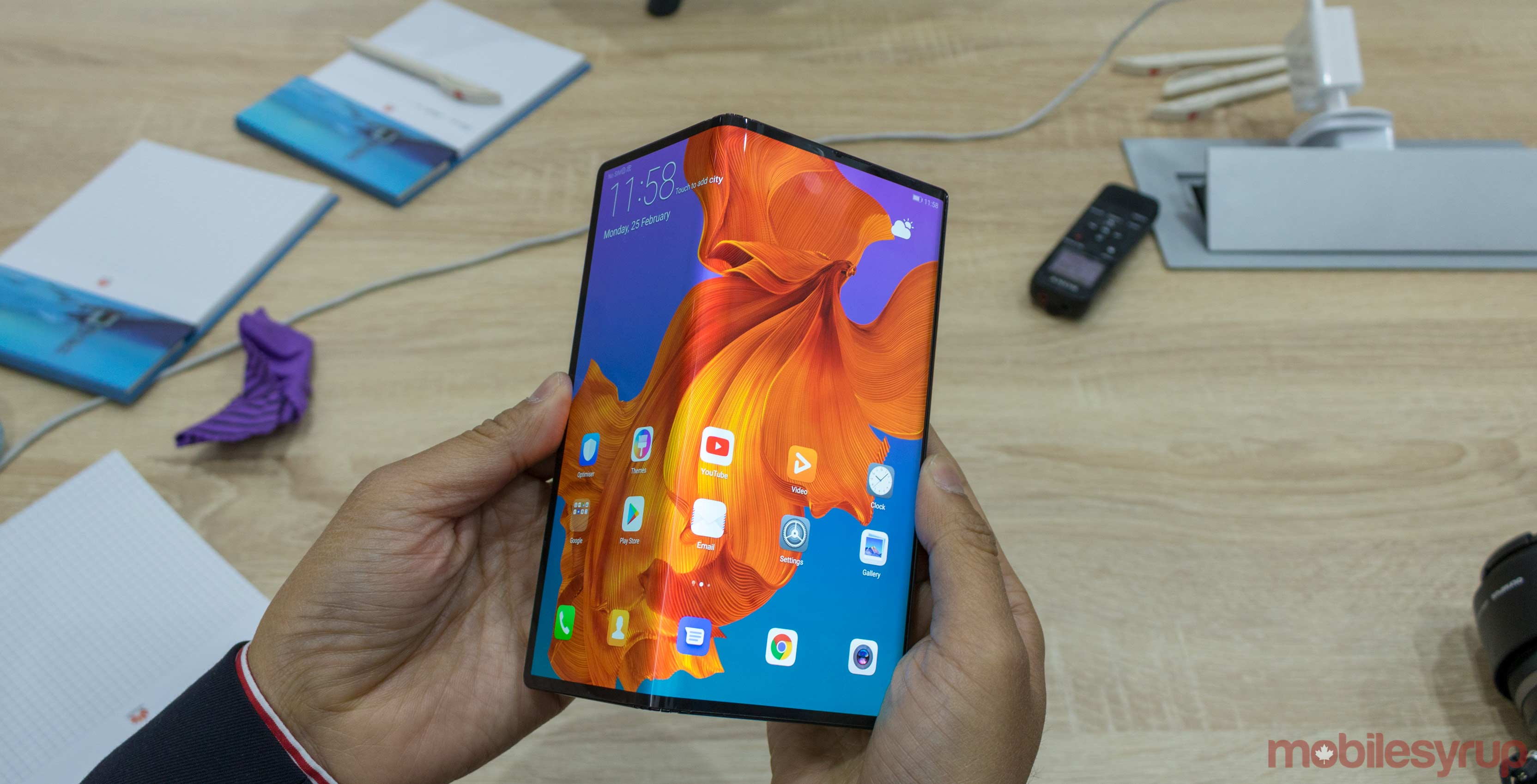 Huawei Mate X foldable smartphone's launch is near