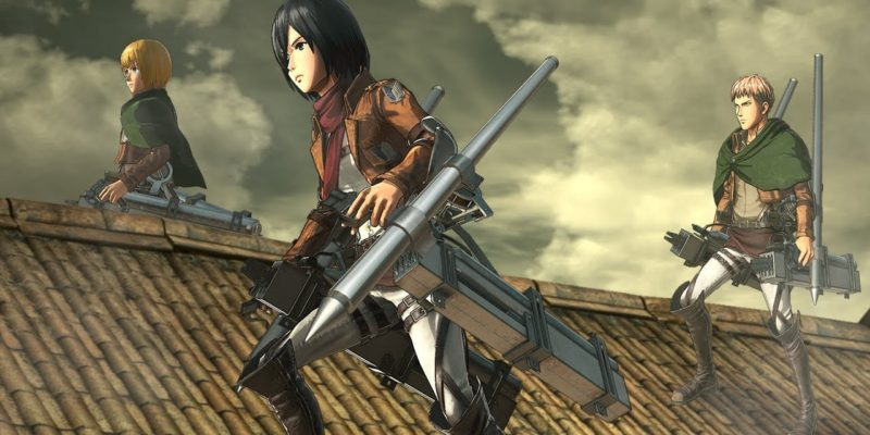 Attack on Titan 2: Final Battle and Final Fantasy XIV