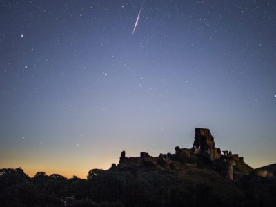 Catch a glimpse of meteor shower tonight!