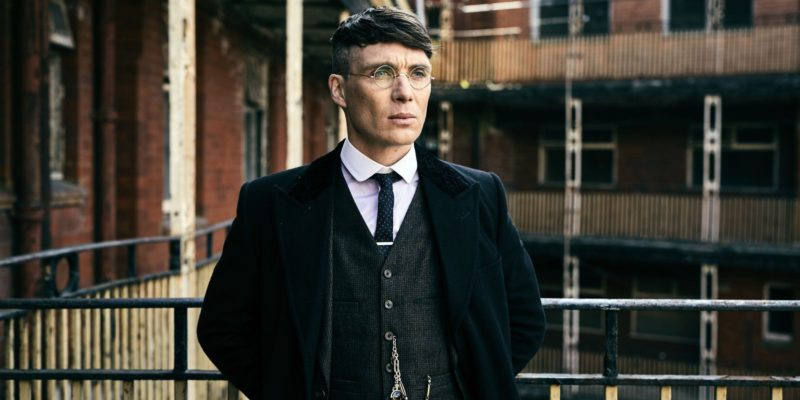 Thomas Shelby from Peaky Blinders.