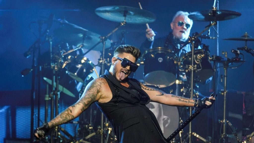 Adam Lambert carves his own niche in the band- one of the many high points of The Rhapsody Tour