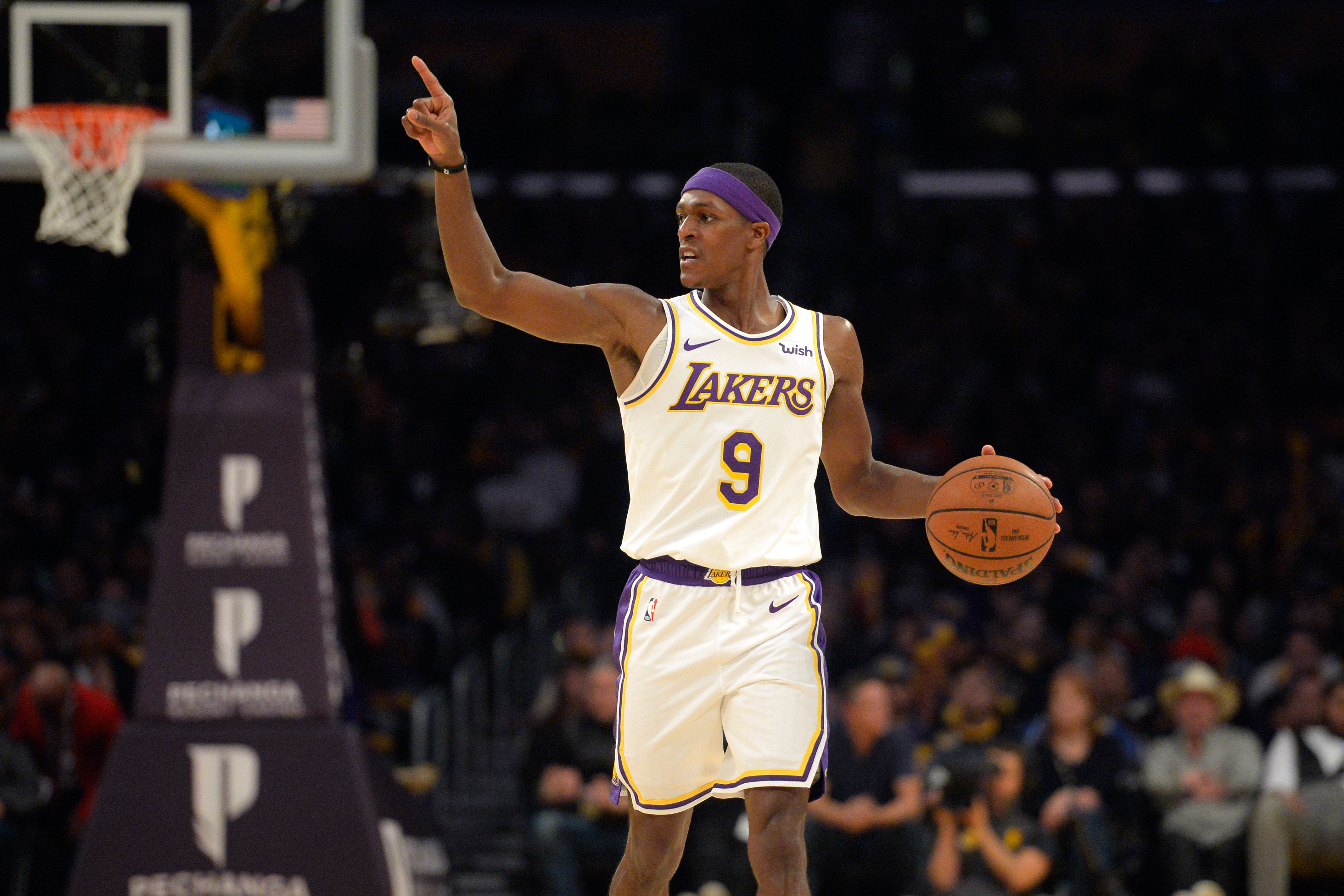 NBA free agency LA Lakers rope in Rondo