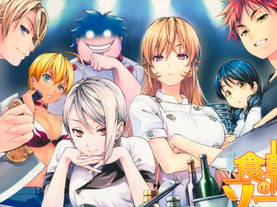 Shokugeki no Sama is yet to release its latest season 4 this October 2019