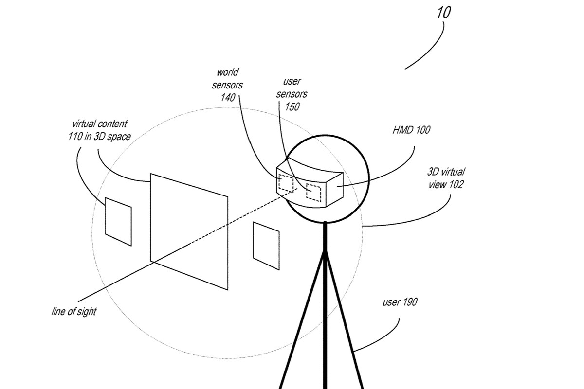 Apple files patent for Mixed-Reality Headset with face tracking