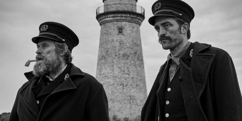 the lighthouse features robert pattinson and wiilliam defoe